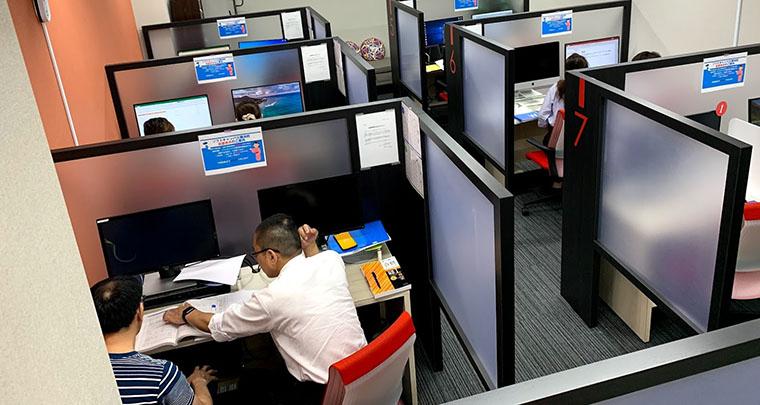 すべてが個別授業で完全マンツーマンのパソコン教室