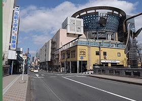 弘前校アクセス 土手町商店街