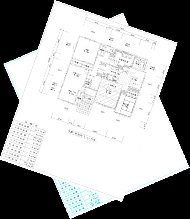 AutoCADで平面図を作図