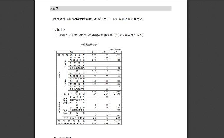 電子会計実務検定試験2級