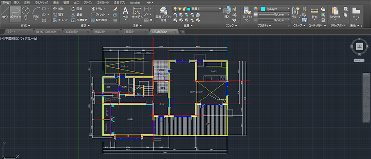 建築CAD検定試験准1級コース