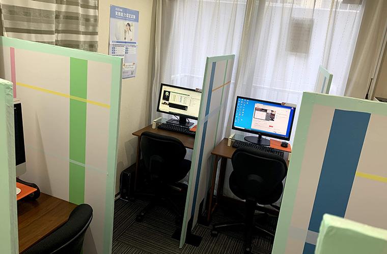 ソフトキャンパス新宿校のフリースペース