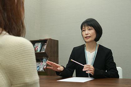 内海 淳子講師の授業風景