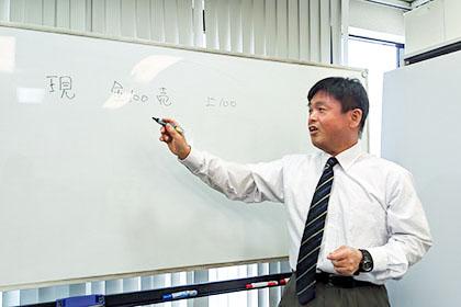 安部 浩章講師の授業風景